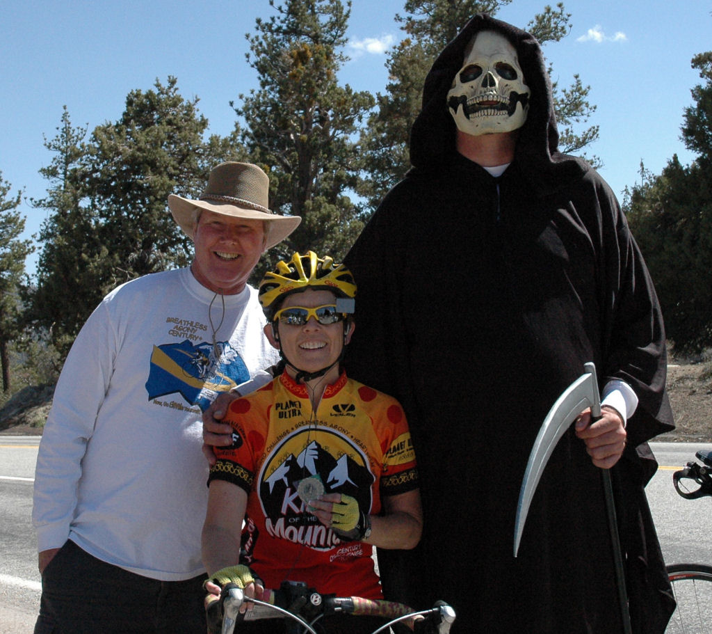One Great SAG, One Great Cyclist, and One Great Reaper